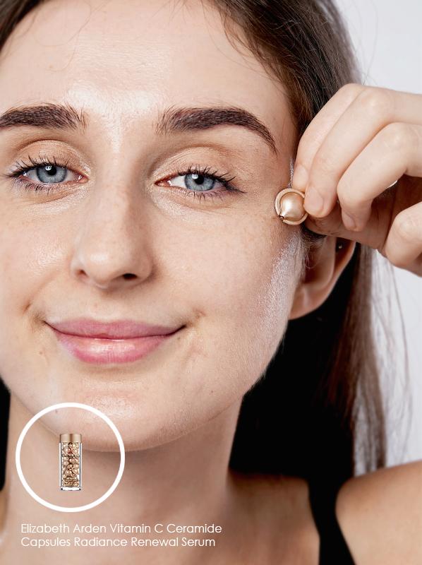 Elizabeth Arden Vitamin C Ceramide Capsules Radiance Renewal Serum in an edit on vitamin c skin care