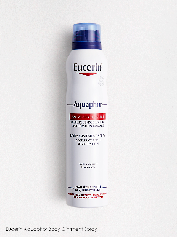 Discover What's New In French Pharmacy: Eucerin Aquaphor Body Ointment Spray