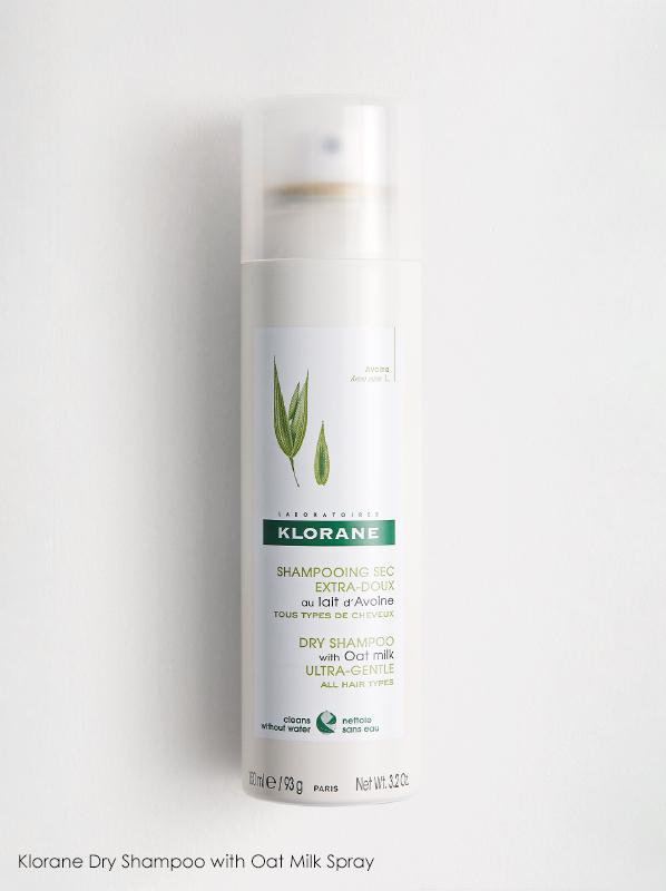 Klorane Oat Milk Dry Shampoo in a French Pharmacy multipurpose skincare edit