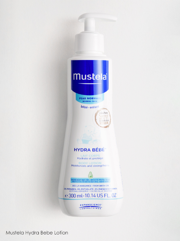 Mustela Hydra Lotion in a French Pharmacy multipurpose skincare edit