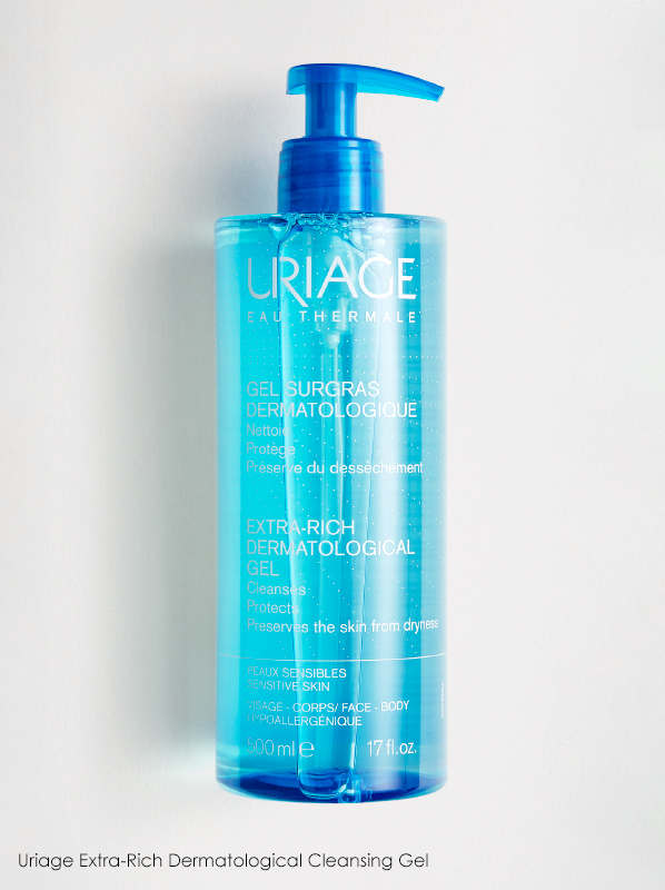 Uriage Extra-Rich Dermatological Cleansing Gel in a French Pharmacy multipurpose skincare edit