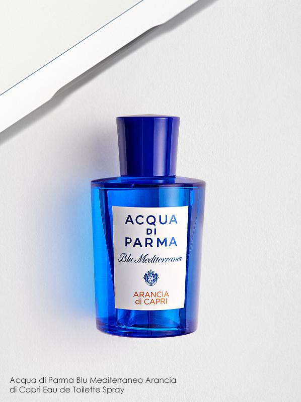 Best Mood-Boosting Fragrances; Acqua di Parma Blu Mediterraneo Arancia di Capri Eau de Toilette Spray