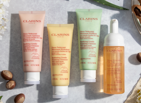 The Sustainability Series: Mother's Day Gift Guide - Clarins Cleansers and Toners