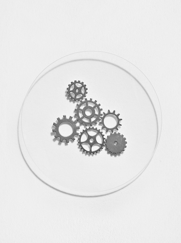 New Beauty Launches Inspired By Cogs: Image of cogs in a petri dish