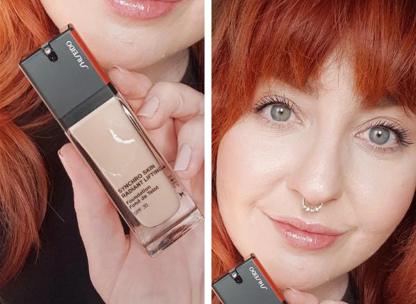 New beauty February 2021: Shiseido Synchro Skin Radiant Lift Foundation