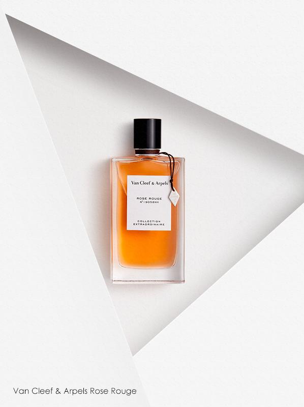 Best Niche Fragrances; Van Cleef & Arpels Collection Extraordinaire Rose Rouge Eau de Parfum Spray