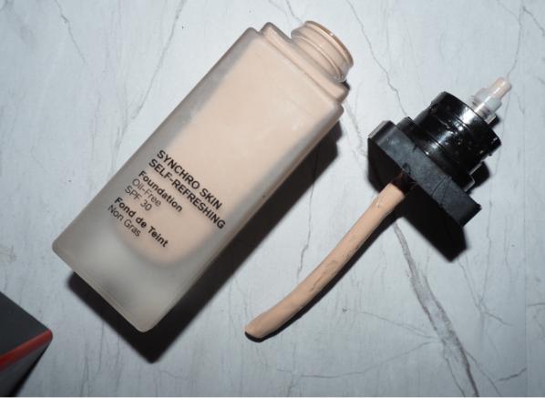 Beauty empties March 2021: Shiseido Synchro Skin Self-Refreshing Foundation SPF30