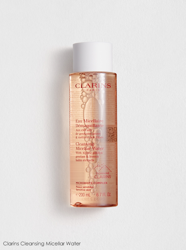Clarins New Cleansers and Toners Review: Clarins Cleansing Micellar Water