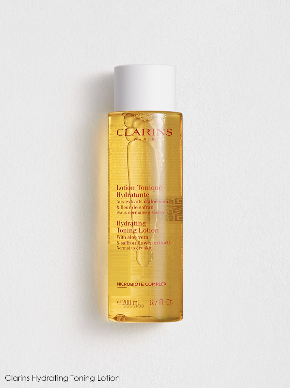 Clarins New Cleansers and Toners Review: Clarins Hydrating Toning Lotion