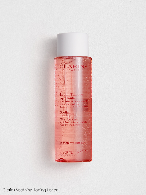 Clarins New Cleansers and Toners Review: Clarins Soothing Toning Lotion