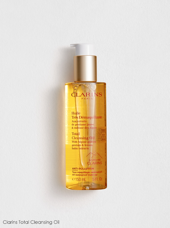 Clarins New Cleansers and Toners Review: Clarins Total Cleansing Oil