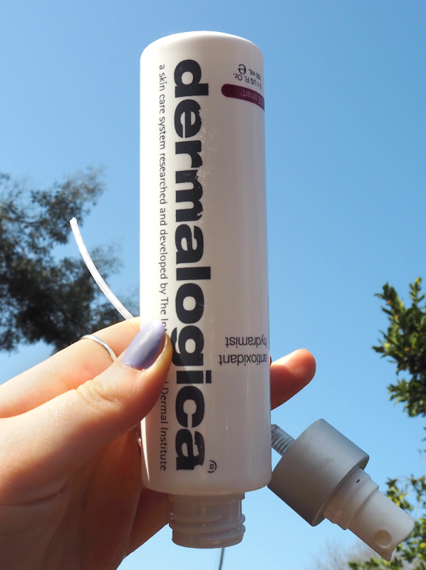 April Beauty Empties: Dermalogica Age Smart Antioxidant Hydramist