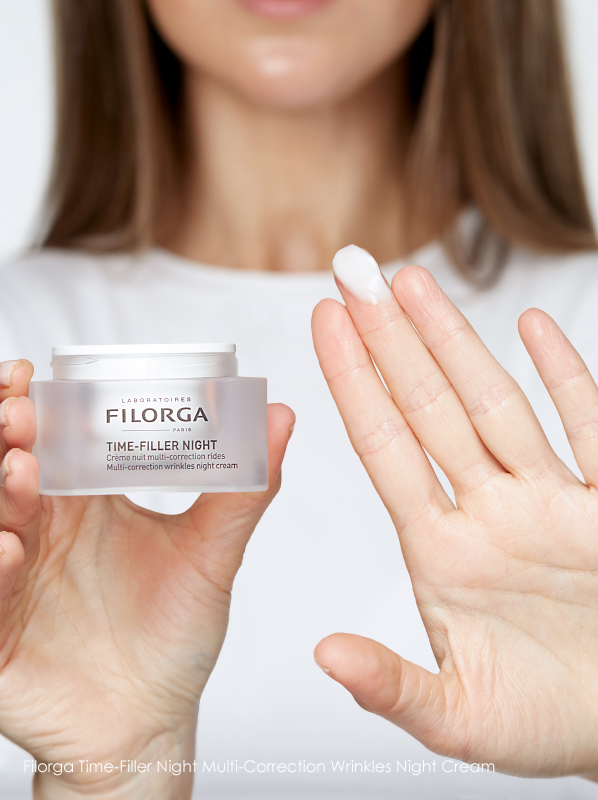 Best Botox Alternatives; Filorga Time-Filler Night Multi-Correction Wrinkles Night Cream