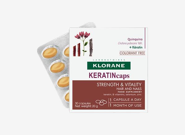 Klorane Keratin Caps Strength &...