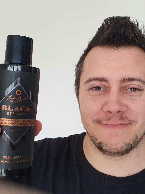 March New Beauty Monthly Favourites: Jack Black Black Reserve Body Spray