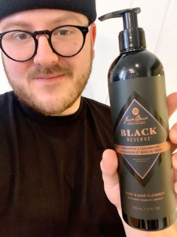 March New Beauty Monthly Favourites: Jack Black Black Reserve Hair and Body Cleanser