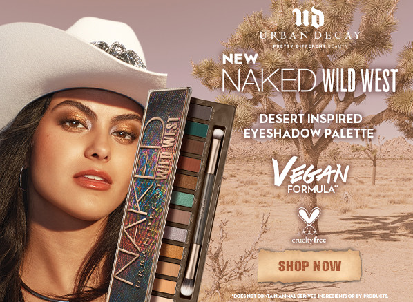 Urban Decay Naked Wild West Eyeshadow Palette - Review