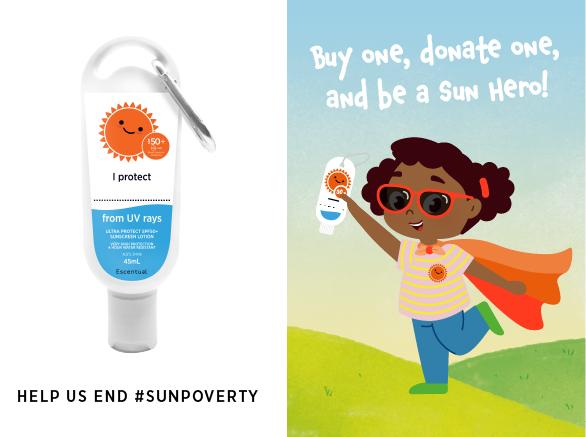 Help Escentual End #SunPoverty