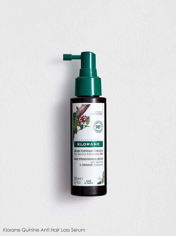 French Pharmacy Wishlist: Klorane Quinine Hair Strengthening Serum