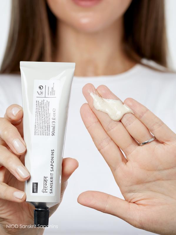 Best skincare for enlarged pores: NIOD Sanskrit Saponins
