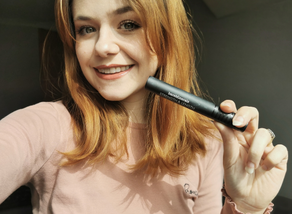 We Test The Most Hyped Mascaras Right Now; bareMinerals Strength & Length Serum-Infused Mascara