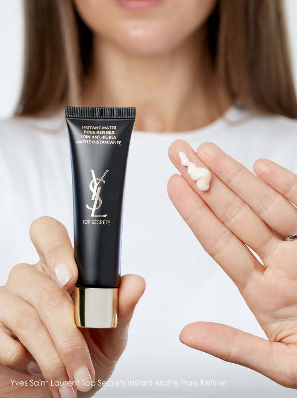 best products for enlarged pores Yves Saint Laurent Top Secrets Instant Matte Pore Refiner