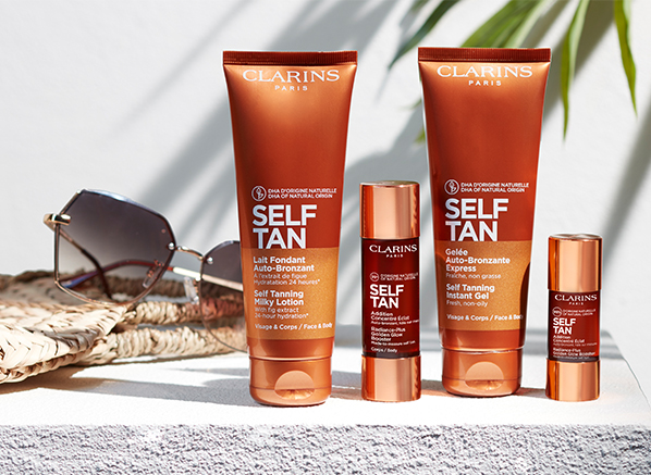 Clarins Tan Collection for Clarins Self Tanning Milky Lotion review