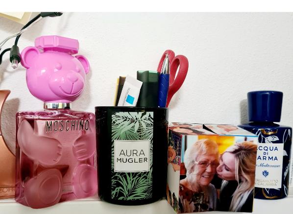 Beauty Empties; Mugler Aura Candle