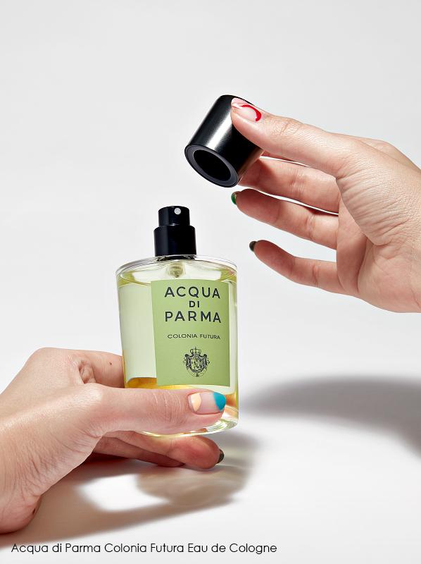Best dressed fragrance bottles; Acqua di Parma Colonia Futura