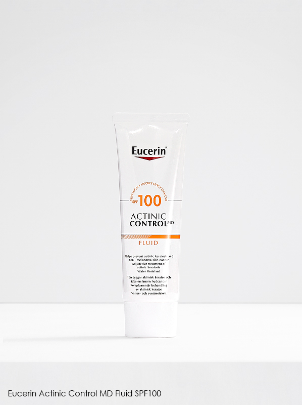 New French Pharmacy: Eucerin Actinic Control MD Fluid SPF100