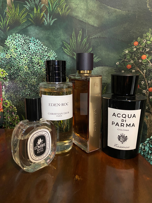 My Life In Perfume, Alice Du Parq - Favourite Perfume Brands
