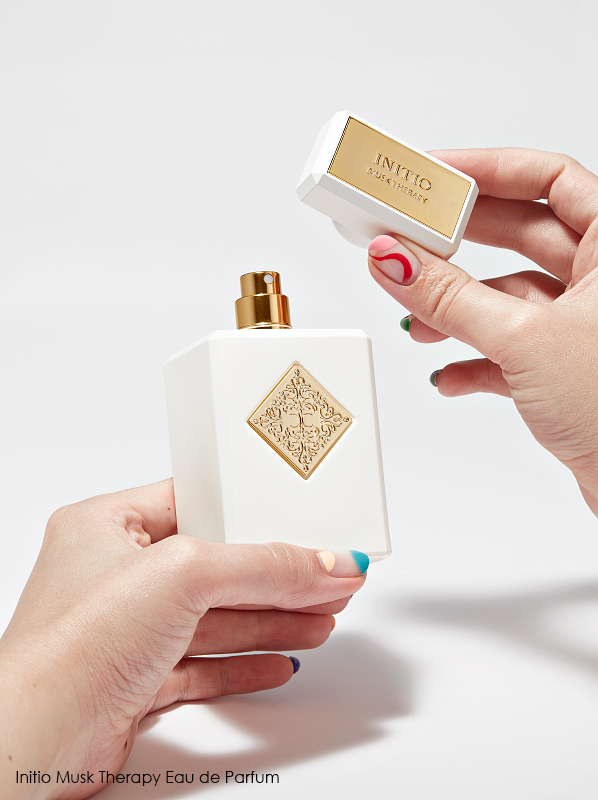 Bets dressed fragrance bottles; Initio Musk Therapy