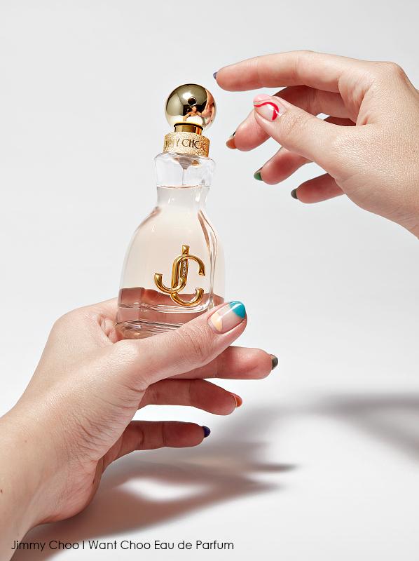 Best dressed fragrance bottles; Jimmy Choo I Want Choo