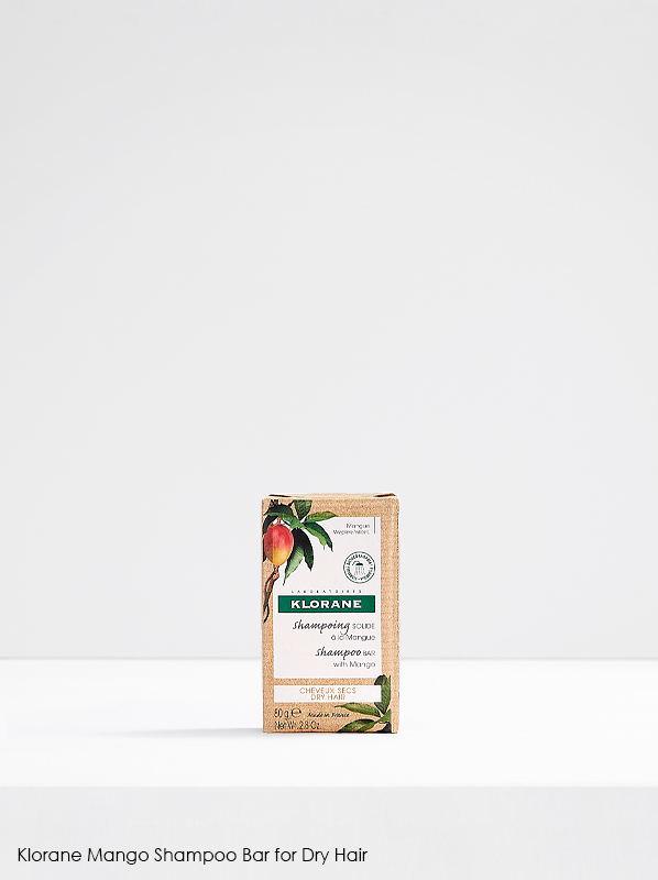 New French Pharmacy: Klorane Mango Shampoo Bar for Dry Hair