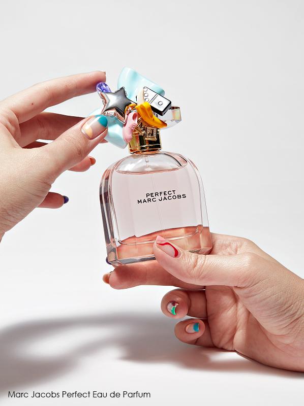 best dressed fragrance bottles; Marc Jacobs Perfect