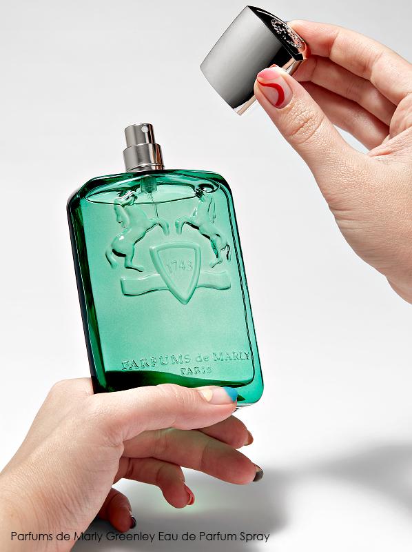 Best dressed fragrance bottles; Parfums de Marly Greenley Eau de Parfum Spray