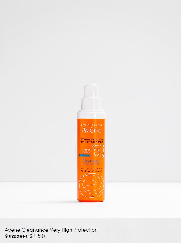 Best Sunscreen for Acne: Avene Cleanance Very High Protection Sunscreen SPF50+