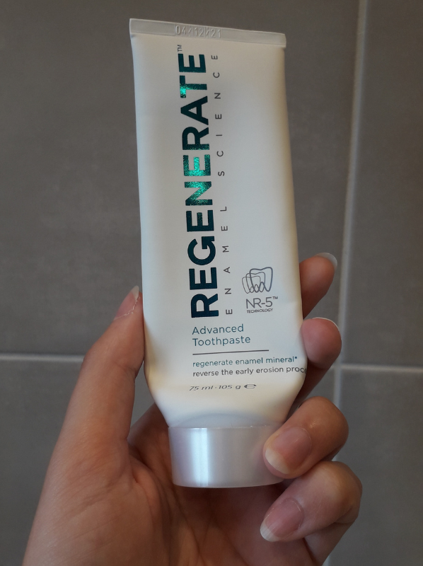 Beauty Empties July - Regenerate Advanced Toothpaste