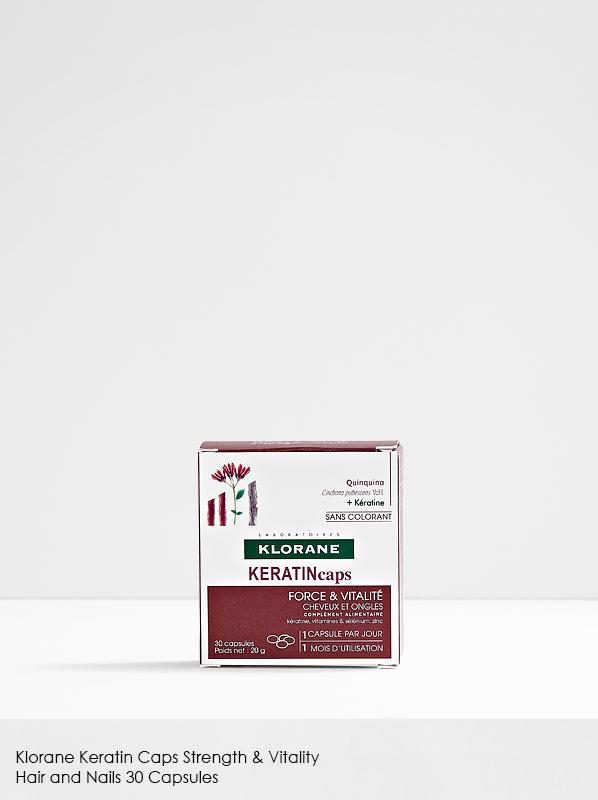 Multipurpose French Pharmacy: Klorane Keratin Caps Strength & Vitality Hair and Nails 30 Capsules