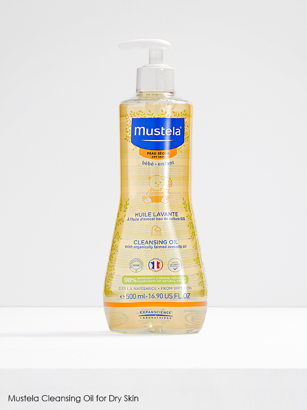 Multipurpose French Pharmacy: Mustela Cleansing Oil For Dry Hair