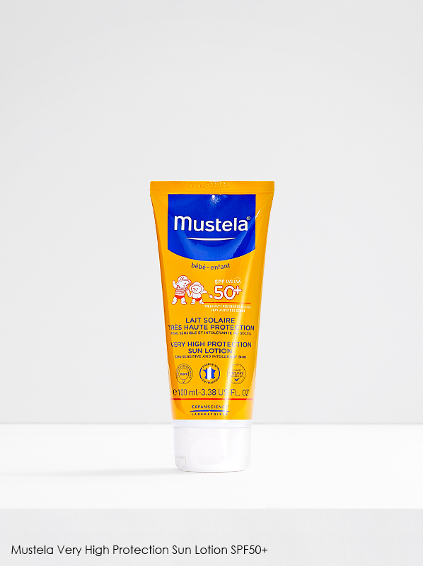 Best Sunscreen for Kids: Mustela Very High Protection Sun Lotion SPF50+