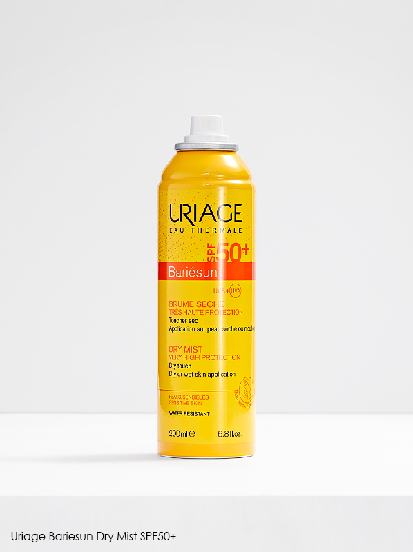 Best Sunscreen for Dry Skin: Uriage Bariesun Dry Mist SPF50+