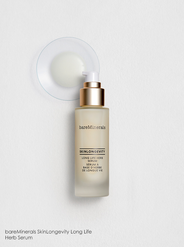 Best Japanese Skincare Ingredients: bareMinerals SkinLongevity Long Life Herb Serum