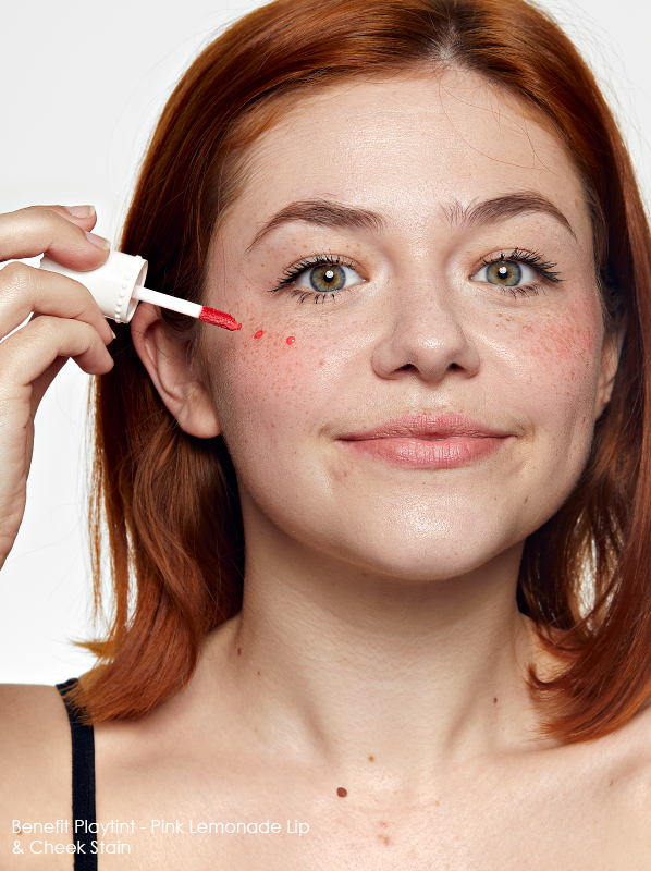 Best Blusher Types - Benefit Playtint Pink Lemonade Lip & Cheek Stain