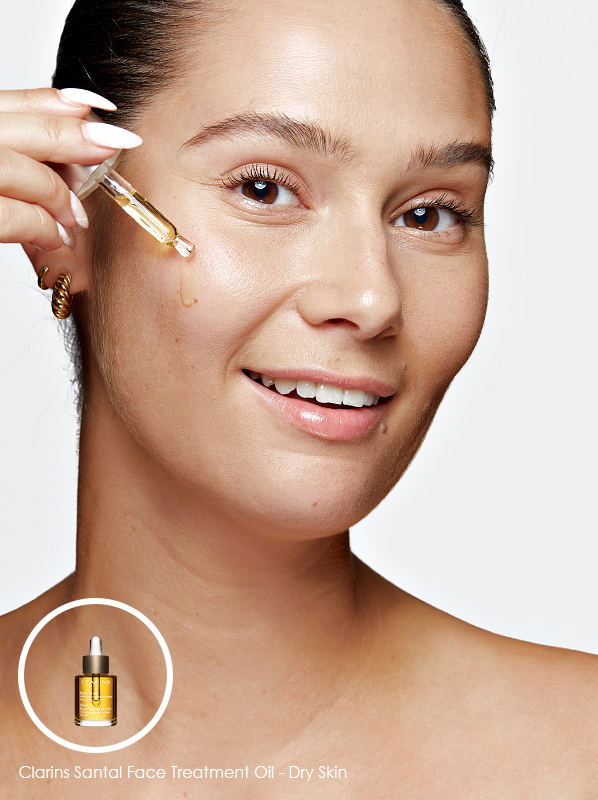 Face Oil For Every Skinm Type - Dry; Clarins Santal Face Treatment Oil