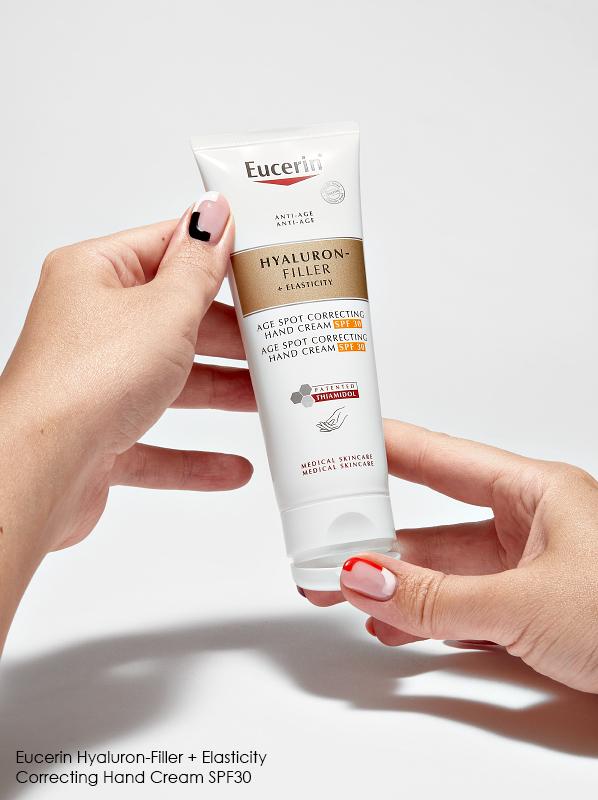 Eucerin Hyaluron-Filler + Elasticity Age Spot Correcting Hand Cream SPF30 Review