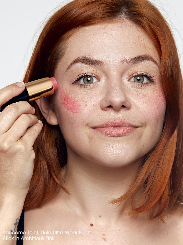Best Blusher Types - Lancome Teint Idole Ultra Wear Blush Stick Ambitious Pink