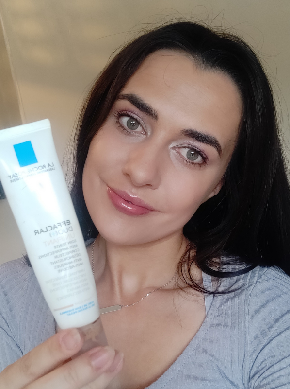 Escentual team member with a beauty product they used up: La Roche-Posay Effaclar Duo [+] Unifiant