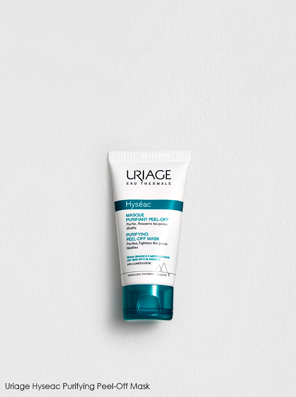 Does stress cause skin spots? Uriage Hyseac Purifying Peel-Off Mask