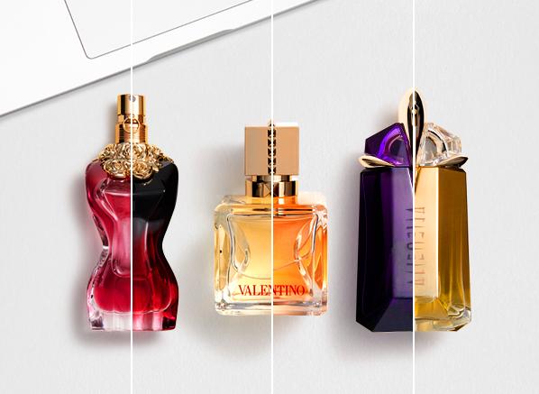 Expert Compares 6 Iconic Fragrances With Their Newest Flanker; Mugler Alien, Valentino Voce Viva, Jean Paul Gaultier La Belle